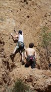 """Rock Climbing Photo: Bouldering the start of """"Sophie's Choice.&quo..."""