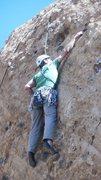 Rock Climbing Photo: Grabbing the finishing jug.