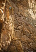 Rock Climbing Photo: Mission Impossible from across the canyon.  Photo:...