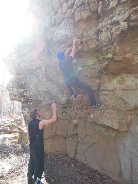 Rock Climbing Photo: The Donkey Show
