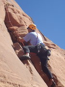 Rock Climbing Photo: Drake; workin it