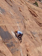 Rock Climbing Photo: closer look at the action