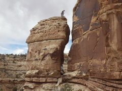 Rock Climbing Photo: viewed from the side