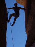Rock Climbing Photo: roger having a go at it