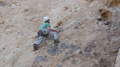 "Rock Climbing Photo: Into the black gold patina of ""Black Gold.&qu..."