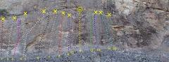 Rock Climbing Photo: Upper Mid West - Lower (FZ) Wall