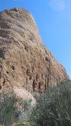 Rock Climbing Photo: The south face.