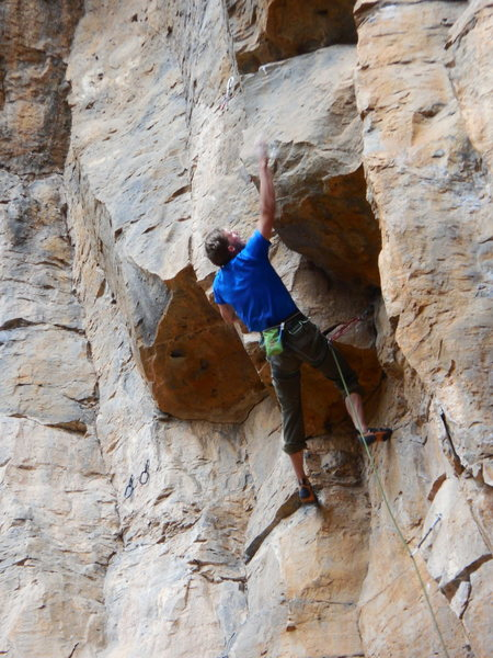 Rock Climbing Photo: The torque developed by rotation about the longitu...