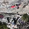 Gabe Metzger on Super Natural .11c. Larry Land, Bowman, Ca.