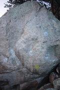 Rock Climbing Photo: Full Frontal, V4.