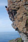 Rock Climbing Photo: Duncan onsighting Suficiente