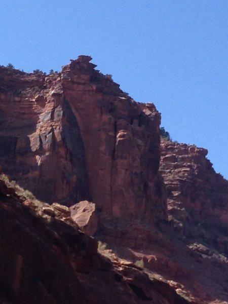 Rock Climbing Photo: Eclipse Buttress
