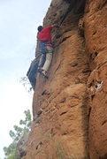 Rock Climbing Photo: Me on Pedro pico