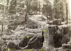 Rock Climbing Photo: It is the corner casting a shadow near the center ...