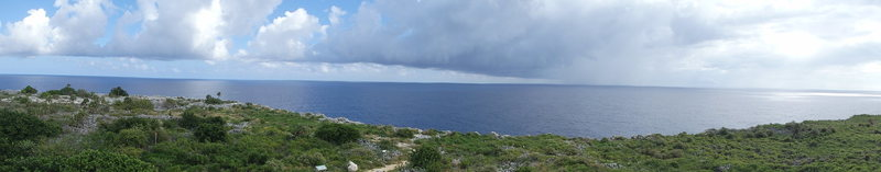 Rock Climbing Photo: View of the point from on top of the lighthouse...
