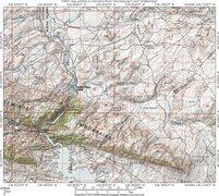 Rock Climbing Photo: Map 1:  Seminoe Mountains