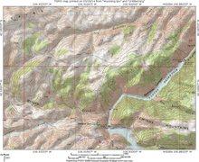 Rock Climbing Photo: Map 2:  West Seminoe Rocks.