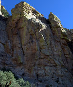 Rock Climbing Photo: John Steiger cruising the route. He made it look e...