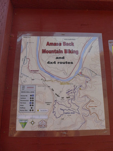 non-climbing day activities: the Hymasa/Amasa Back trail system