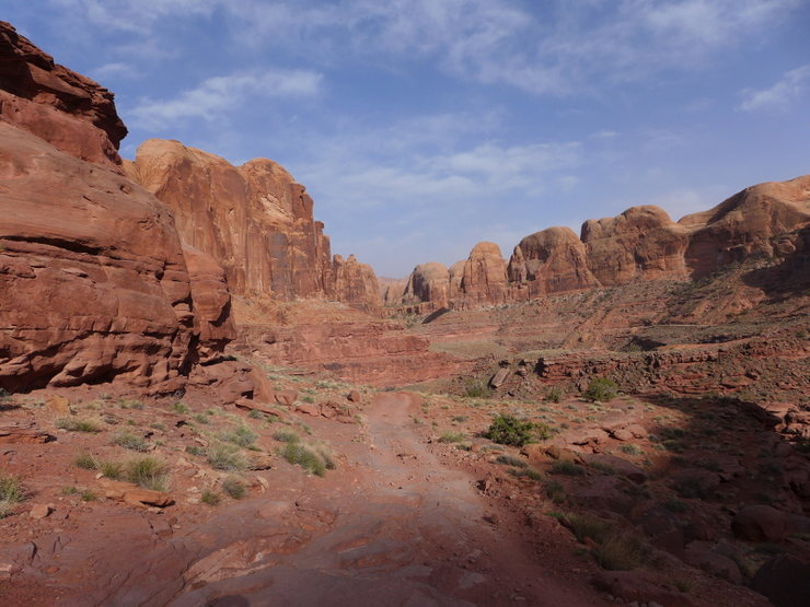 Rock Climbing Photo: Kane Creek area