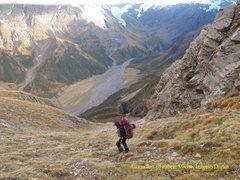 Rock Climbing Photo: Alpine Style
