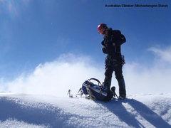 summit ridge of Mt. Buller
