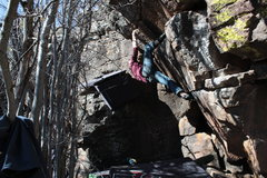 Rock Climbing Photo: Pump it up