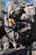 Rock Climbing Photo: Pumpy Problem