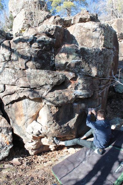 Rock Climbing Photo: Start holds