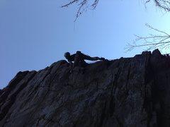 Rock Climbing Photo: Squirrel Deck 5.8+ HCR