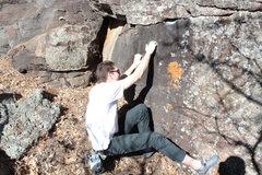 Rock Climbing Photo: Start of the problem