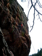 Rock Climbing Photo: GB moving right, to the bottom of Army's obvious r...