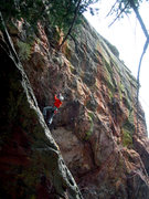 Rock Climbing Photo: GB at the first bolt of Armed Forces, at the best ...