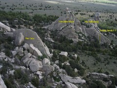 Rock Climbing Photo: Really Sweet in relation to The Taco and The Heffa...
