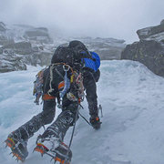 Rock Climbing Photo: typical conditions in damnation