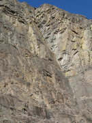 Rock Climbing Photo: One of several big corners on the SE Face
