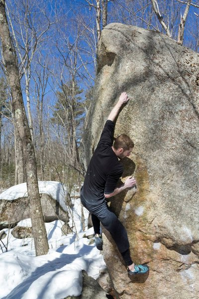 Rock Climbing Photo: Sending F### the method