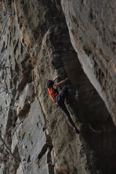 Climbing at the Red River Gorge