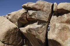 Rock Climbing Photo: A good shot of Jack the Ripper in Joshua Tree.