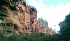 Rock Climbing Photo: Gimnasio de Franko sector of Arico Abajo