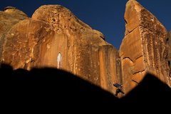 Rock Climbing Photo: Photo taken by Jordan Bierma during a very late fa...