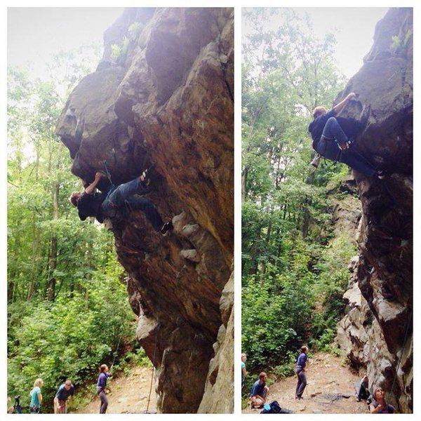 Rock Climbing Photo: trzy