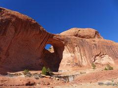 Rock Climbing Photo: Potash Road excursion: Bowtie Arch