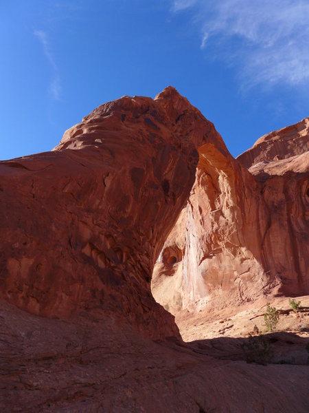 Rock Climbing Photo: Corona Arch (next to Bowtie)
