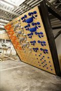 Rock Climbing Photo: system wall