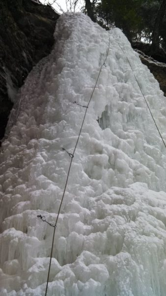 Here's my ascent of the Dryer Hose.<br> <br> Second lead climb on ice and was definitely worth it.<br> <br> Great climb