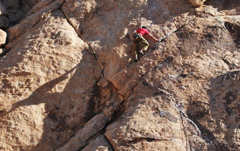 Rock Climbing Photo: Darin Limvere cruising LA Woman  photo by bob gain...