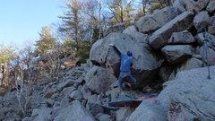 Rock Climbing Photo: To the jug!