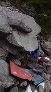Rock Climbing Photo: Ian on the start.