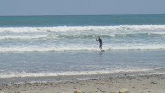 Rock Climbing Photo: Surfing in Costa Rica.